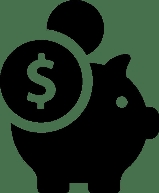 piggy bank - Curso de gestión y logística del almacén