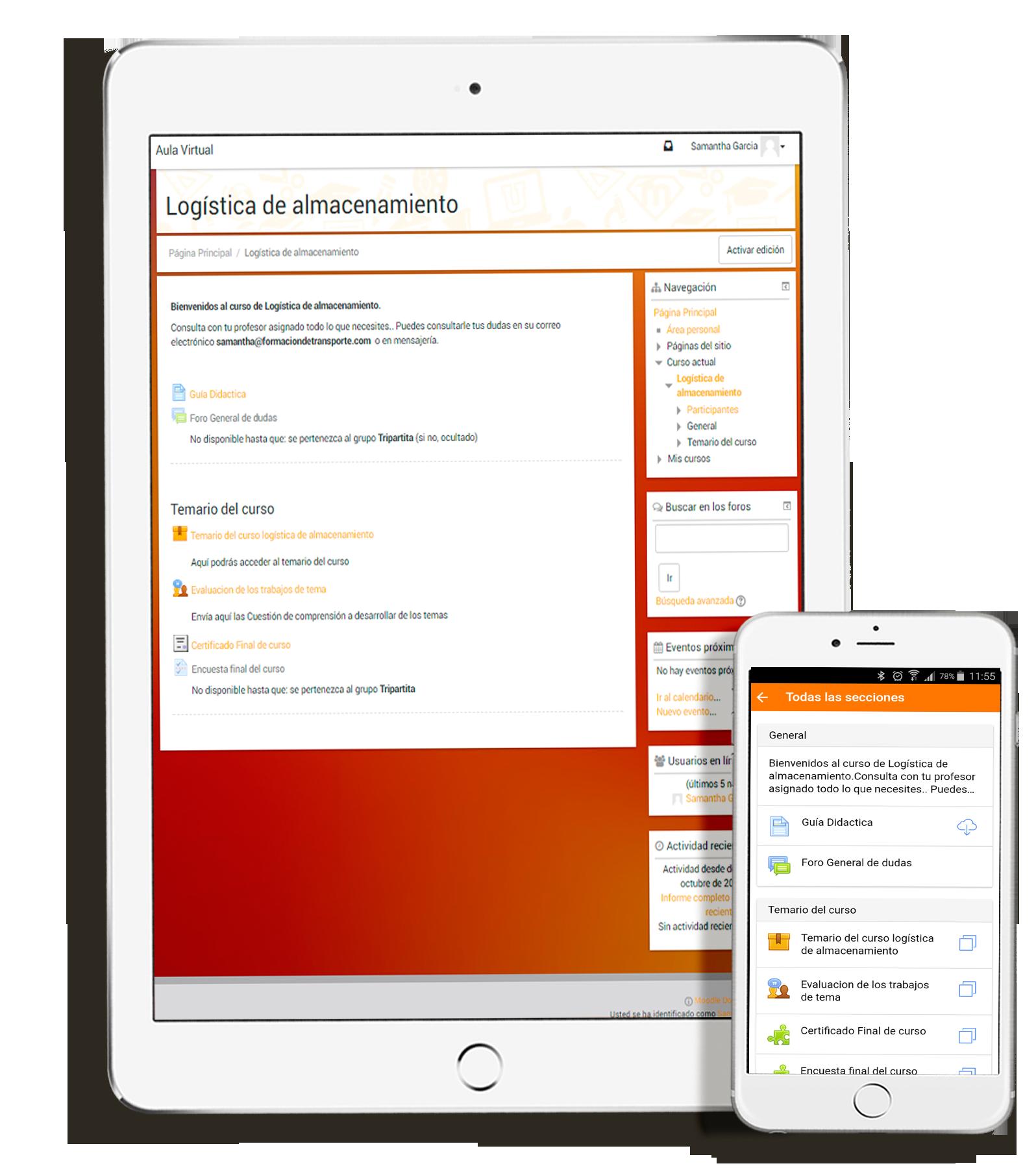 iphone logistica - Curso de gestión y logística del almacén