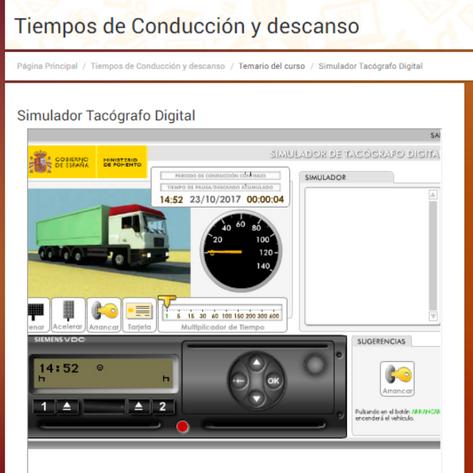 tacografo1 - Curso de tacógrafo tiempos de conducción y descanso