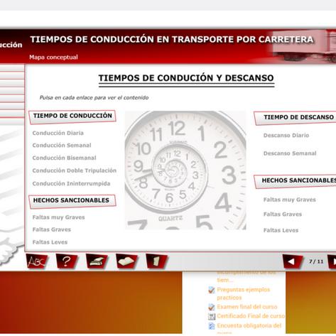 tacografomapa - Curso de tacógrafo tiempos de conducción y descanso